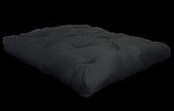 FF Double Blown Foam Black Left Side by worldwide mattress outlet