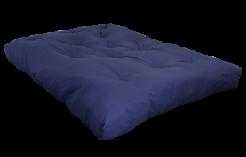 FF Double Blown Foam Blue Left Side by worldwide mattress outlet