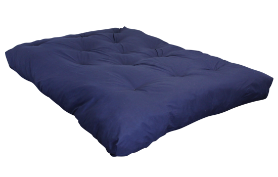 FF Double Blown Foam Blue Left Side By Worldwide Mattress Outlet ...
