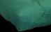 FF Double Blown Foam Green Close Up by worldwide mattress outlet