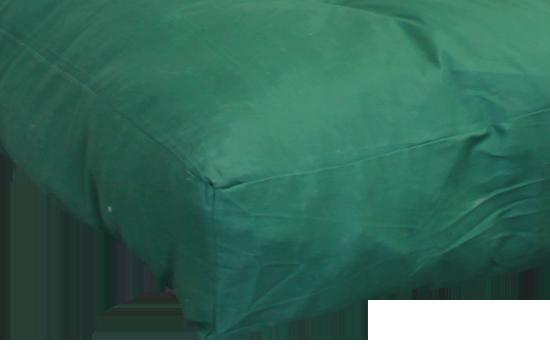 FF Double Blown Foam Green Left Side by worldwide mattress outlet