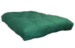 FF Double Blown Foam Green Left Side by worldwide mattress outlet