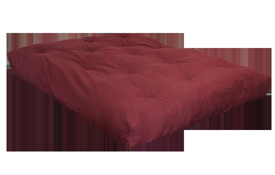 FF Double Blown Foam Red Left Side by worldwide mattress outlet