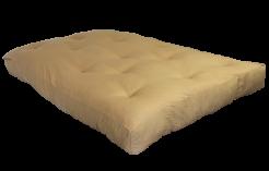 FF Double Blown Foam Tan Left Side by worldwide mattress outlet