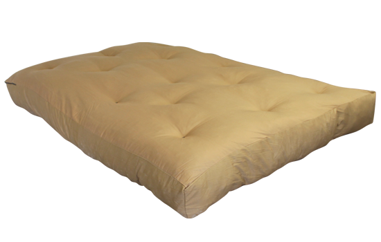 Ff Double N Foam Tan Left Side By Worldwide Mattress Outlet