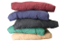 FF Stack of Futons Assorted Colours Head On by worldwide mattress outlet