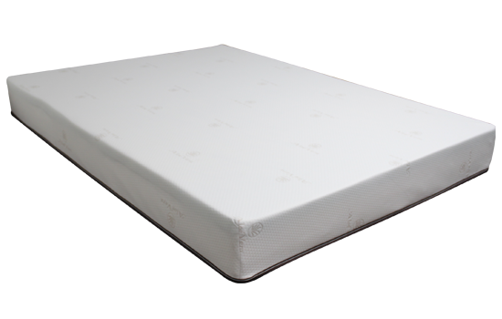 Home 8in Gel Memory Foam Left Side by worldwide mattress outlet
