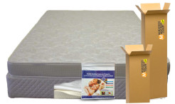 SI-Snow-White-Quilted-Foam-#head-on-by-Worldwide-Mattress-Outlet