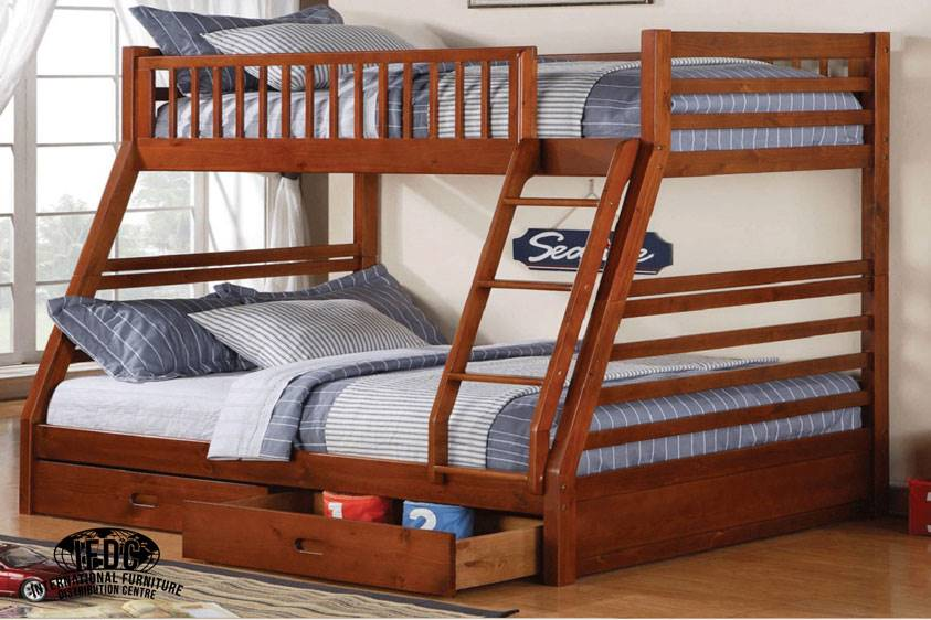 B 117h Single Double Bunk Bed