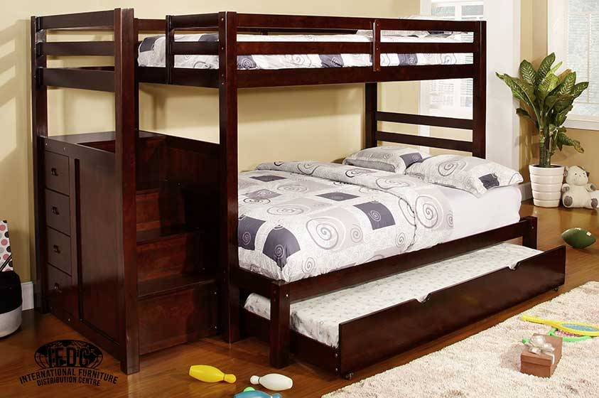 B 119 Staircase Bunk Bed
