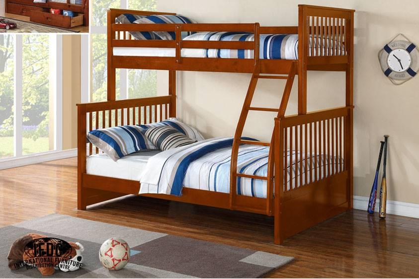 B 122 O Twin Full Bunk Bed