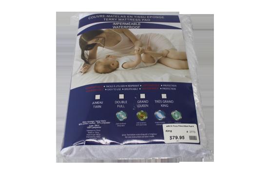 ARCO Waterproof Mattress Protector by Worldwide Mattress Outlet